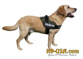 Julius K9-IDC powerharnesses -camouflage-