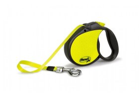 flexi SPECIAL, 5m tape leash, NEON, size L for dogs->50kg